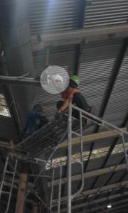 Installation and Setting CCTV Industrial in Plant Area