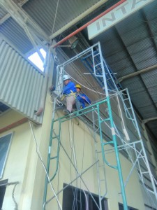 Camera CCTV Installation ( Industrial Plant )