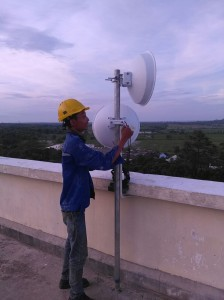 Installation Power Beam ( Industrial Plant )