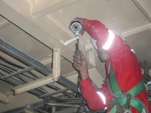 Installation CCTV Industrial   ( Industrial Plant )