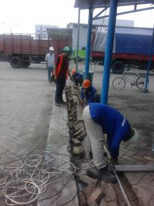 Installation CCTV and Fiber Optic  ( Industrial Plant )