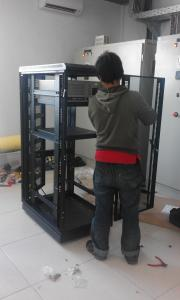 Installation Rack Server  ( Industrial Plant )