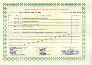 Klasifikasi Badan Usaha